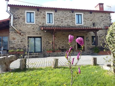 Photo for Centenary stone house 20 minutes from Santiago de Compostela. Spa optional