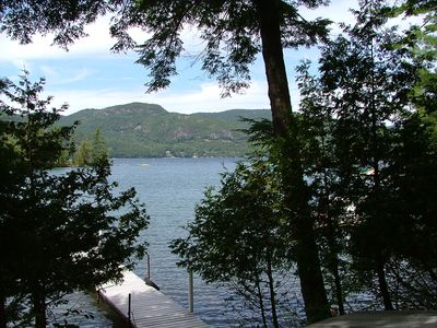 Photo for Waterfront retreat in Indian Bay, Lake George