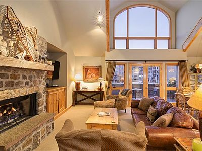 Photo for Perfectly Located 3-Bedroom Condo in the Mountain Village Core