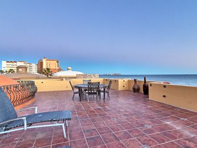 Photo for Exclusive 5 bdrm/5 bath beachfront Villa Toscana - perfect vacation begins here!