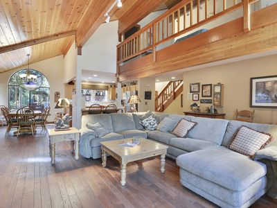 Photo for Tahoe Donner - Wonderful Home with Hot Tub and Pool Table
