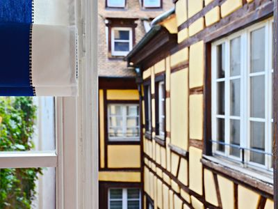 Photo for Elegant 2 bedroom apartment in the very heart of historical Strasbourg