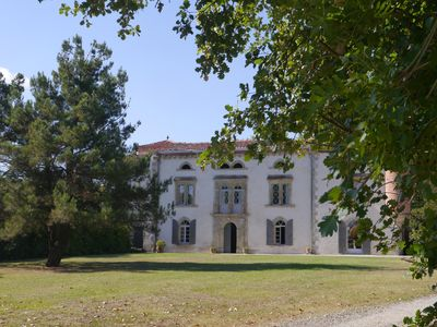 Photo for Seventeenth century manor house in Lauragais country -the Andibats- SOUPEX