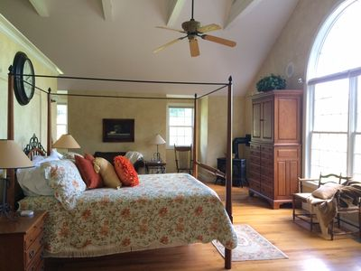 """Photo for """"French Country Barn Loft"""" Luxurious Couple's Escape on the New River"""