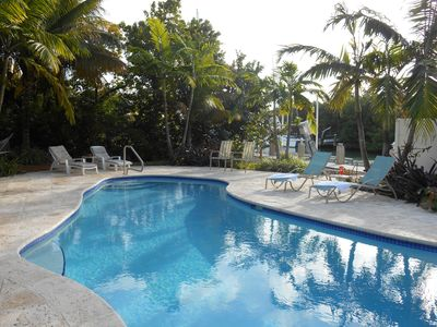 Photo for Tropical Temptation🏖️Canal Front, Private Pool & Dock, Steps away from Beach