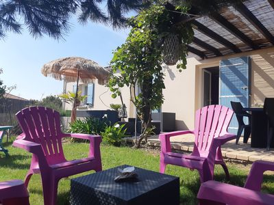 Photo for Charming cottage with all comfort on the Côte de Lumière, 2 minutes from the beaches