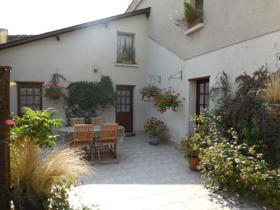 Photo for Spacious cottage near Saumur for 4 people. garden terrace with barbecue