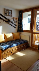 Photo for In the heart of Val Thorens, ideal family studio 4 pers located south