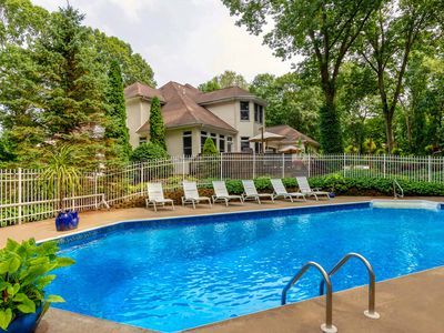 Photo for ★ 5,694 Sq Ft Home • Hot Tub • Waterfall + Koi • Family & Pet Friendly • CLEAN!