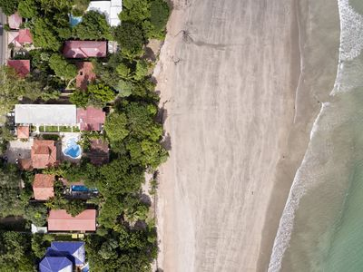Photo for October&November Special! Tamarindo Beachfront 4 Bedroom House with private pool