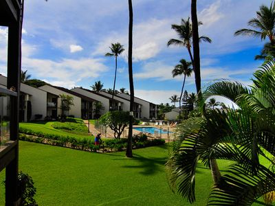 Photo for #240 Second floor condo, easy access to best beach on Maui!