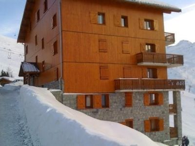 Photo for The Menuires, 63m2 apartment in a chalet at the foot of the slopes 2 Garage sees.