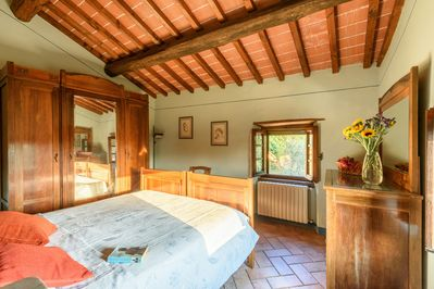 Main bedroom of Le Stelle,