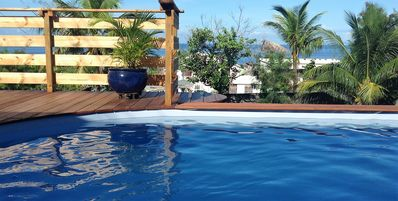 Photo for MANGO Villa Creole style with pool and sea view