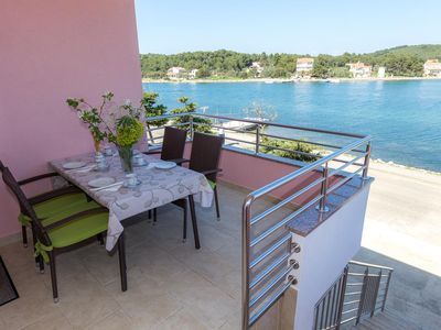 Photo for One bedroom apartment near beach Veli Rat, Dugi otok (A-11525-b)