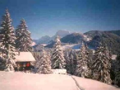 Photo for Chalet  Best-Price with garden WIFI ski region hikingnowshoes 1 hour from Geneva