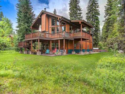 McCall Cabin in Spring Mountain Ranch: Shared Pool, Club House, Private Hot Tub and More!