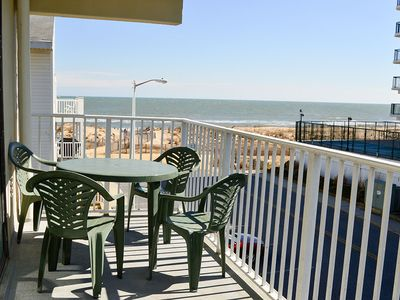 Photo for Steps Away from Beach! Beautiful Condo w/ Wi-Fi & Private Balcony (35th St.)