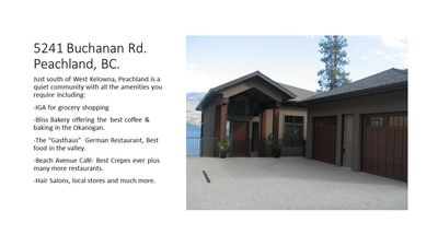 Photo for Luxury Lakefront Property in Peachland, BC.  Gorgeous Mountain and Lake Views!