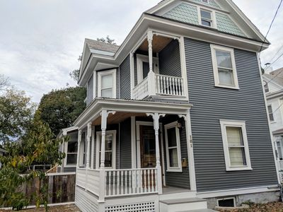 Photo for Bright Updated Historic Victorian with Large Backyard