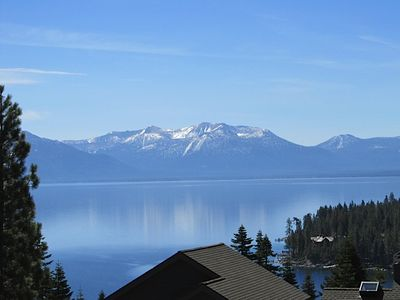 Photo for Spectacular Lake View, 2 Master Suites, Walk to Beach, Broadband Wifi