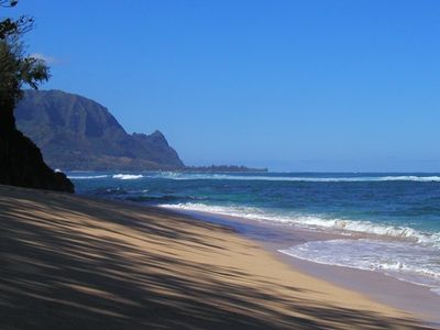 Photo for Kauai Luxurious W/AC Oceanfront Puu Poa Condo-Whale Watching at its Best