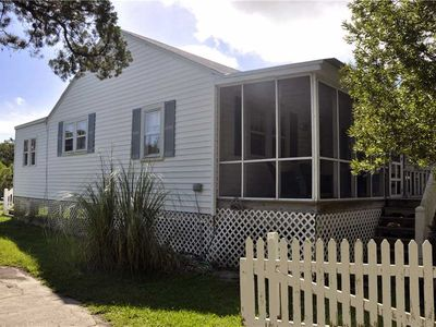 Photo for Quiet Shores:  Pet friendly, large yard, marsh view, shallow canal.