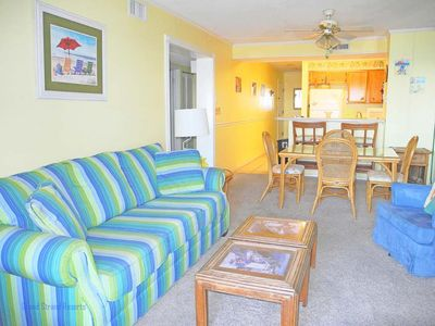 Photo for Tilghman Beach and Racquet Club Unit: 204! Oceanfront 3 Bedroom Condo. Book now for best rates!