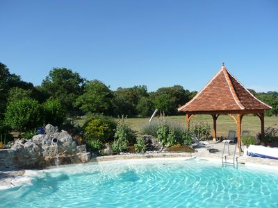 Photo for Character property with heated pool, quiet.