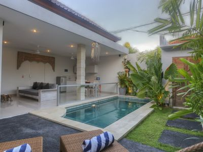 "Photo for Modern Style 2 Bedroom Villa ""Eat Street"", Seminyak"