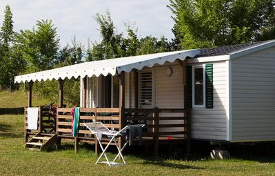 Photo for Campsite Camp de Florence **** - Mobil Home Deluxe Confort Plus 3 rooms 4/6 people