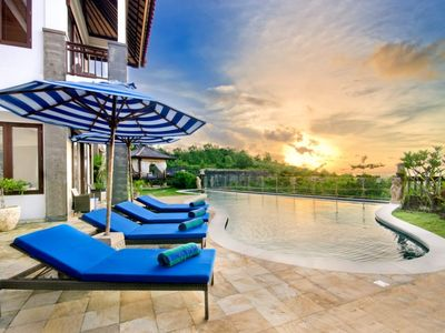 Photo for 4BR South Bali Villa Central Location for Family Travelers