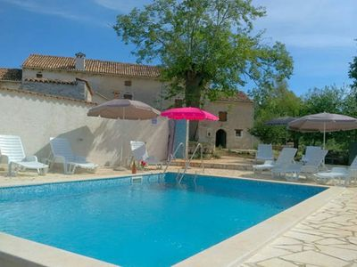 Photo for Green paradise in istria with big pool and garden