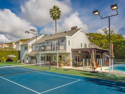 Photo for Gorgeous Estate in Beverly Hills with Tennis Court!