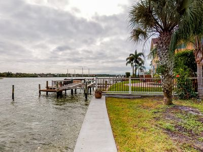 Photo for NEW LISTING! Waterfront home w/ dock, garden, bikes, and kayaks -  dogs OK!