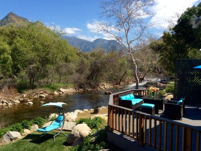 RIVERFRONT PARADISE 7 MILES FROM THE GATES TO SEQUOIA NATIONAL PARK
