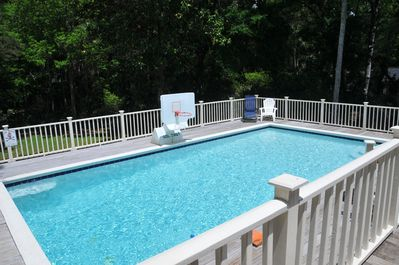 32 x 16 heated private pool