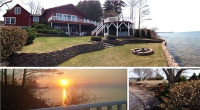 Photo for ALL YEAR - LAKEHOUSE on LAKE ONTARIO NY-GAMES ROOM-HOTTUB-FIREPLACE-PET FRIENDLY