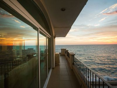 Photo for AMAZING oceanfront views! Beautiful 3 Bedroom Condo in Tiara Sands, Mazatlan!