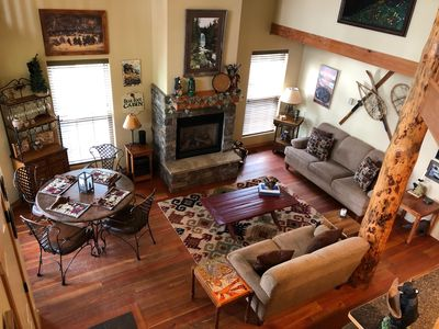 Photo for Bearfoot Cabin-cozy getaway for all seasons-convenient to Glacier and Whitefish