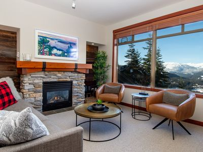 Photo for ★ ★ ★ ★ ★  Tranquil Oasis - Stunning Views - Ski/Bike In & Out - Hot Tub