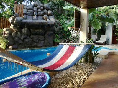 Photo for Fully equipped ocean view studio at Casa Bambora, short walk to town and beach.