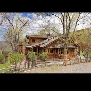 Photo for Beautiful creek side log home, lots of open space but only minutes to town.