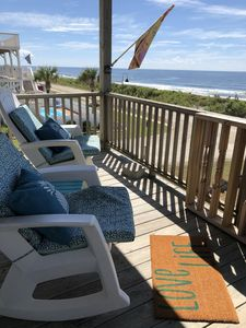 Photo for Spectacular Beach right at your front door!