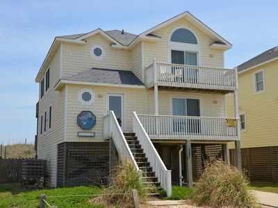 Photo for OCEANFRONT with a  Private Pool, located in the center of the OBX- 471