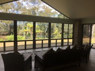 View From Lounge Room And Indoor/Outdoor Area