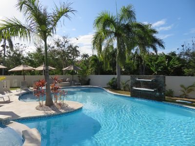 Photo for Luxury 7-Bedroom Villa with Private Pool, Maid, Optional Chef, VIP Services