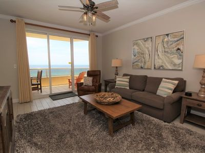 Photo for Enclave 604- Beautiful Beach Front Unit with Large Terrace!