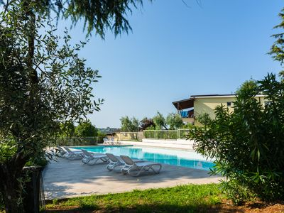 Photo for Secluded Apartment in Manerba del Garda with 3 Pools