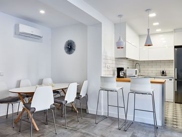 Modern apartment with balcony in the center of Palma near the old town
